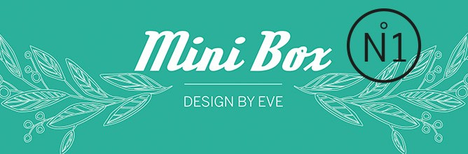 Mini Box DesignbyEVE #01